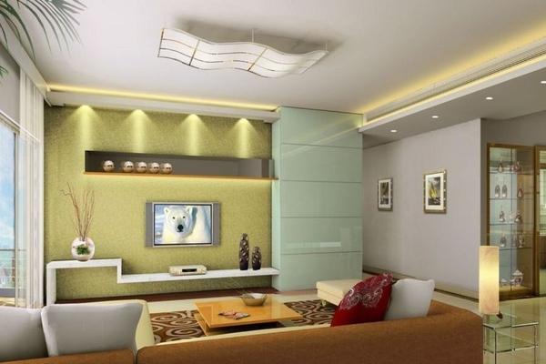 Советы по расположению и декорированию телевизора в гостиной. 15545.jpeg