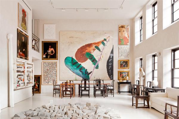 Изобразительное искусство в интерьере - фрески и картины. 15546.jpeg