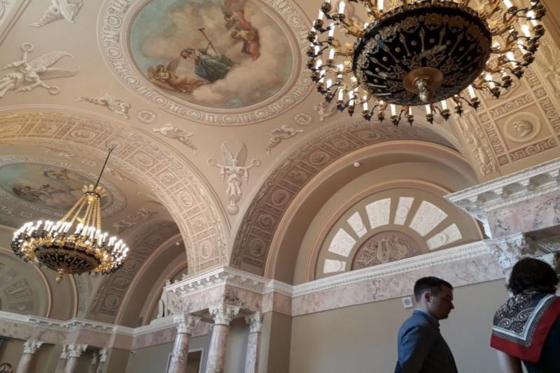 В  Москве  завершилась реставрация клуба аристократов XIX века. 15562.jpeg