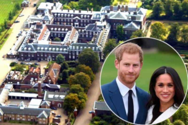 Меган Маркл и принц Гарри потратили 2,4 млн фунтов стерлингов на ремонт их коттеджа. дом, ремонт, Букингемский дворец, принц Гарри, Меган Маркл, Великобритания