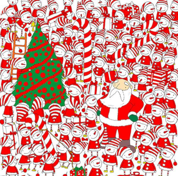 Художник из Венгрии озадачил интернет рождественскими загадками. 14595.jpeg