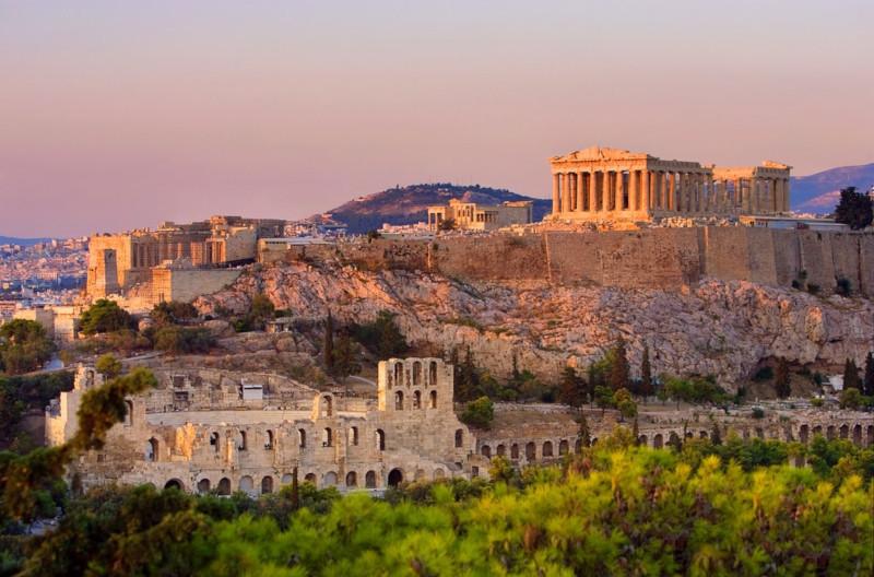 Изменение климата угрожает древним руинам Греции. архитектура, Акрополь, Древняя Греция