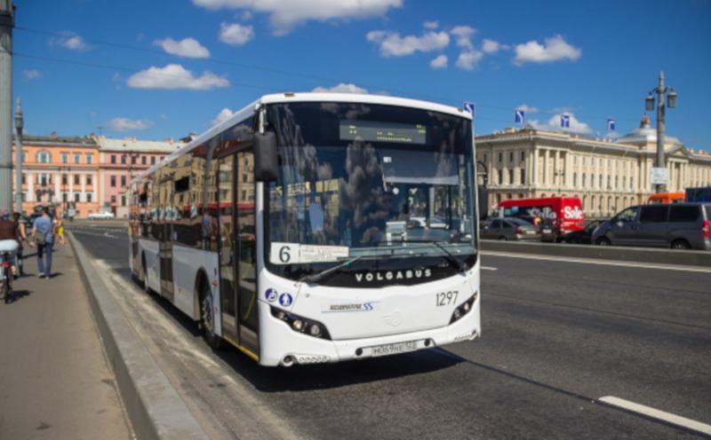 В Петербурге все автобусы оснастят кондиционерами. транспорт, автобусы, кондиционер, Петербург