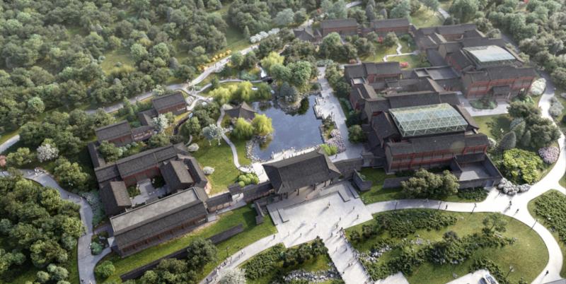 В Москомархитектуре рассказали, каким будет китайский квартал в столице. дом, квартал, китайский, Москва
