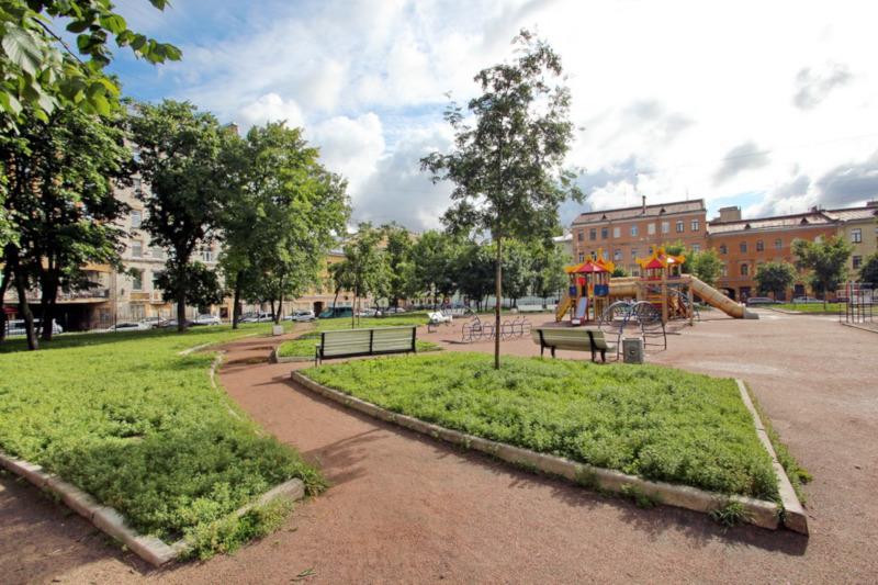 Сад Гранина в Петербурге приведут в порядок к концу лета. город, сад, сад Гранина, благоустройство, Петербург