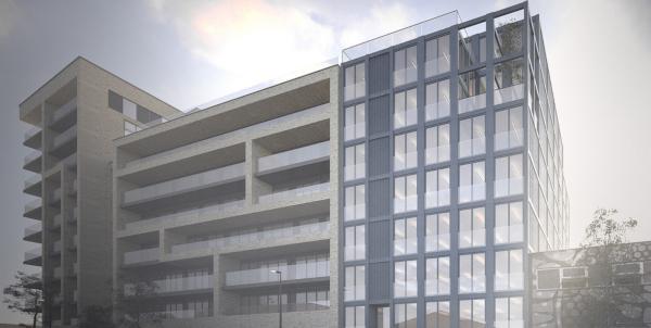 В Лондоне построят самый высокий в мире офис из морских контейнеров. строительство, здание, офис, бизнес-центр, Лондон