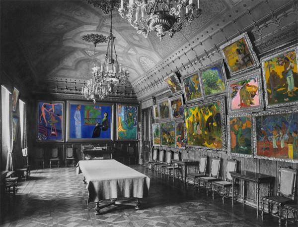 Путин поручил рассмотреть возможность создания музея Щукиных в Москве. музей, Щукин, Москва
