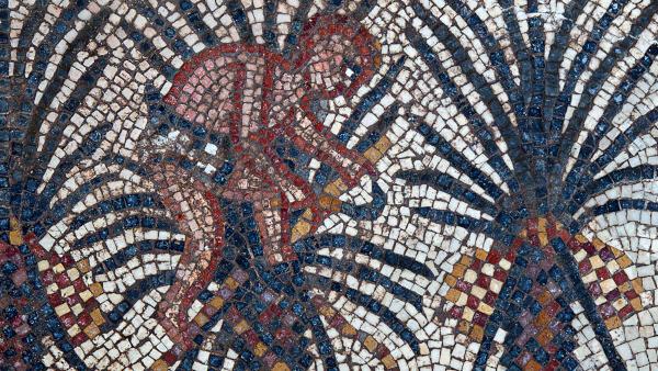 В Израиле нашли древние мозаики с эпизодами из Библии. археология, древность, мозаика, Библия, Израиль