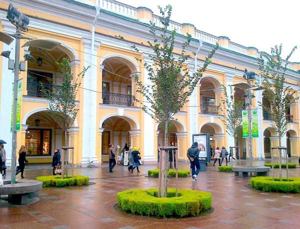 «Гостинку» начнут ремонтировать уже в этом году. здание, универмаг, Гостиный двор, ремонт, Петербург