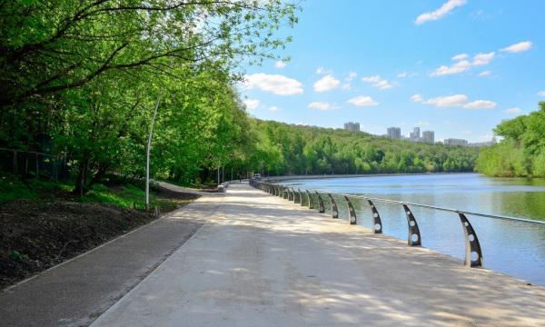 На набережной Москвы-реки построят новую прогулочную зону. строительство, набережная, прогулочная зона, Москва