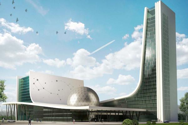 Национальный космический центр в Москве начнут строить осенью. строительство, здание, национальный космический центр, Москва