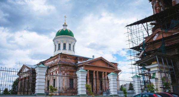 Китайские студенты примут участие в восстановлении храма в Подмосковье. архитектура, храм, реставрация, студенты, Китай, Подмосковье