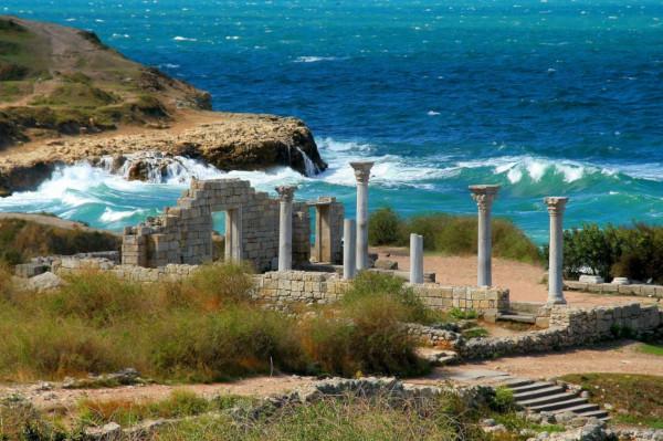 В Крыму появится музей на месте затопленного античного города. город, древний, античность, музей, Крым