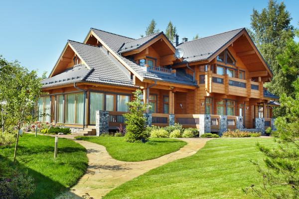Минпромторг предложил субсидировать покупку деревянных домов. дом, строительство, деревянный, покупка, субсидия