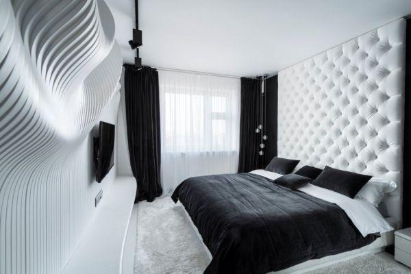 Черный и белый цвета в интерьере. 14703.jpeg