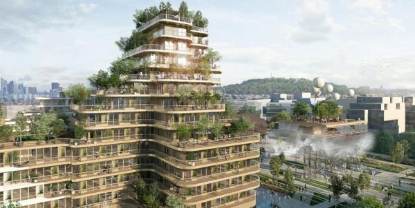 Каким будет новый квартал на месте парижской промзоны. строительство, промзона, жилой комплекс, Париж, Франция