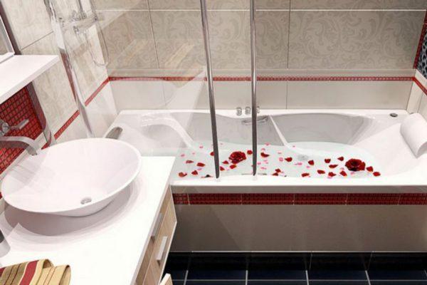 Простой способ, сделать маленькую ванну просторной.. 14755.jpeg