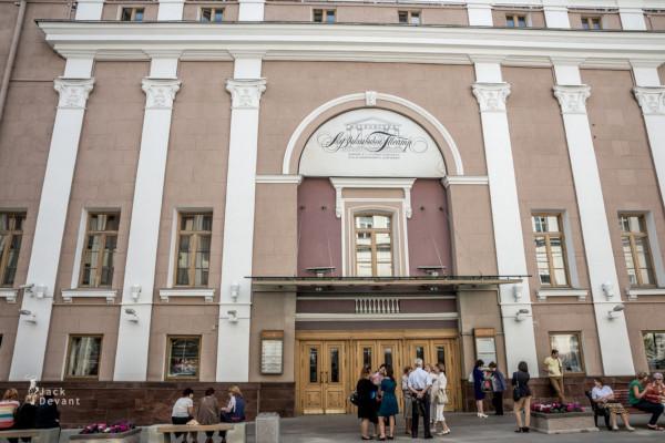 В Москве отремонтируют фасады театра Станиславского и Немировича-Данченко. дом, здание, фасад, театр, Москва