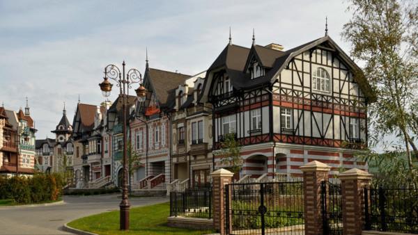 Цены на элитные дома в Подмосковье снизились на 45 млн руб. за три года. дом, коттедж, недвижимость, цены, Подмосковье