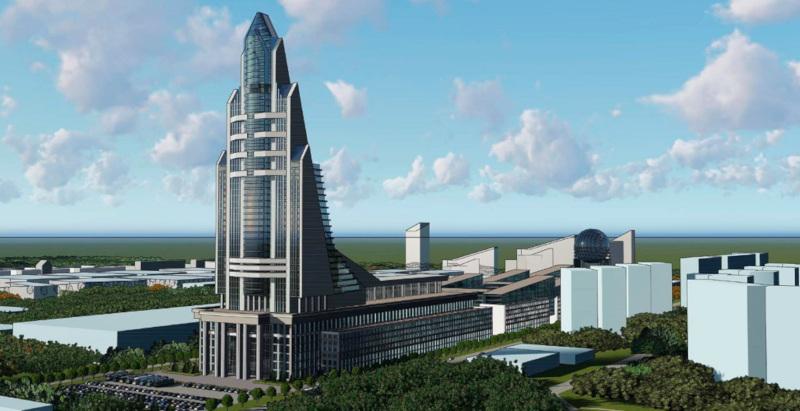 Космический центр с небоскребом в виде ракеты построят в Филях. 15839.jpeg