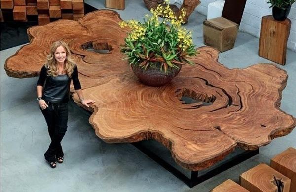 Идеи декора из спилов дерева. 15845.jpeg