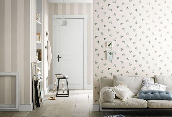 Дизайнерские решения, как совместить два вида обоев в одном помещении. 15851.jpeg