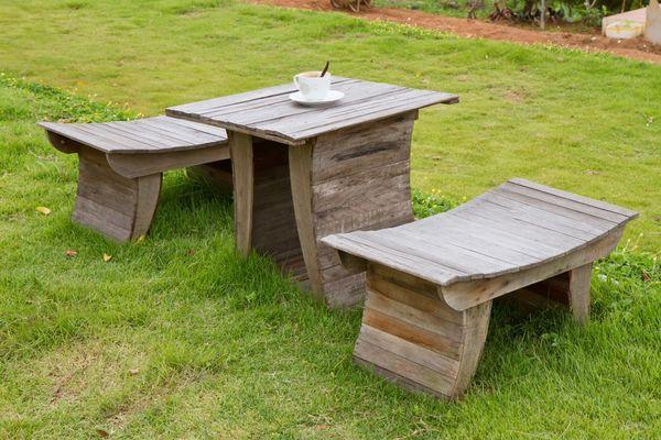Садовая мебель из дерева. 16866.jpeg