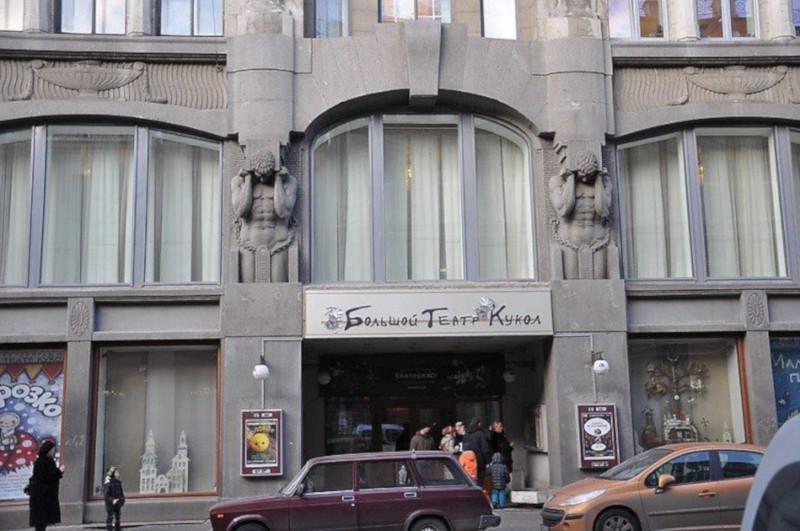 В петербургском театре кукол прошли обыски. здание, квартире, театр кукол, Некрасова, обыск, Петербург
