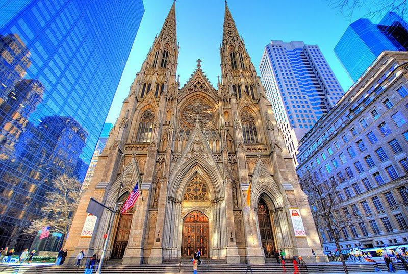 Полиция Нью-Йорка пресекла попытку поджога собора Святого Патрика. 15892.jpeg