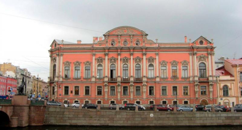 В Петербурге реставрируют дворец Белосельских-Белозерских на Невском проспекте. здание, дворец, ремонт, реставрация, Невский проспект, Петербург