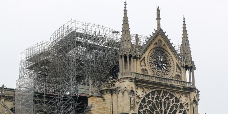Франция объявит международный конкурс на восстановление. собор, собор Парижской Богоматери, восстановление, реконструкция, Париж, Франция