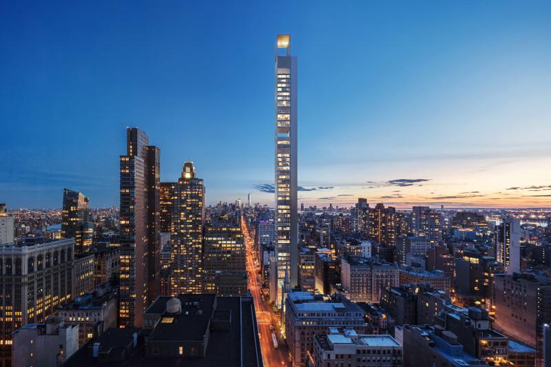 В Нью-Йорке могут построить супернебоскреб в 110-120 этажей. строительство, здание, небоскреб, Нью-Йорк, США
