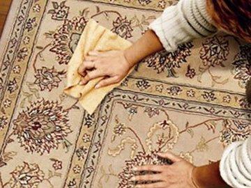 Как правильно почистить ковер