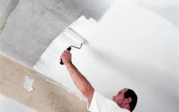 Секреты хорошей покраски потолков