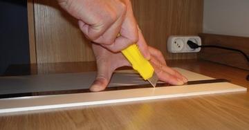 Как правильно резать линолеум