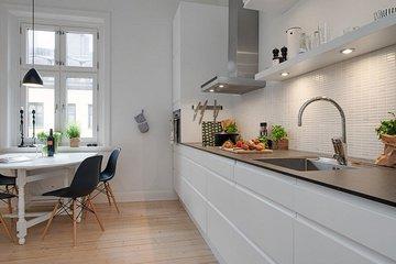 Как оформить кухню в белом цвете