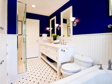 Какие цветовые гаммы наиболее подходят для ванной комнаты