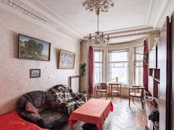 В Петербурге самая дешевая комната в коммуналке стоит 650 тысяч рублей