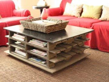 Как самостоятельно сделать мебель из поддонов