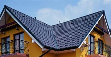 Крыша: шифер или металлическая кровля