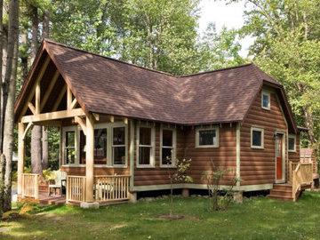 Чем покрыть фасад деревянного дома?