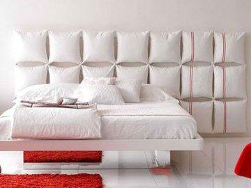 Как сделать оригинальное изголовье кровати