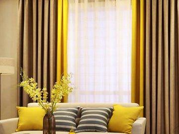 Базовые шторы: материалы и цвета