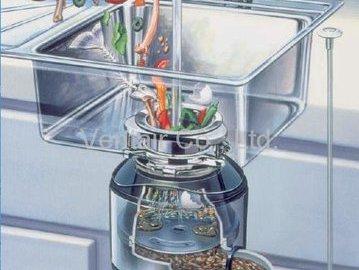 Зачем нужны на кухне измельчители пищевых отходов