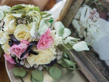 Ваш свадебный букет для интерьера