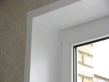 Три шага, чтобы заделать откос окна