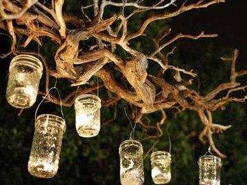 Необычные светильники своими руками (часть 2)