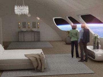Дизайнеры представили интерьеры первого в мире космического отеля