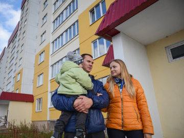 В Вологодской области более 30 семей получили льготную ипотеку