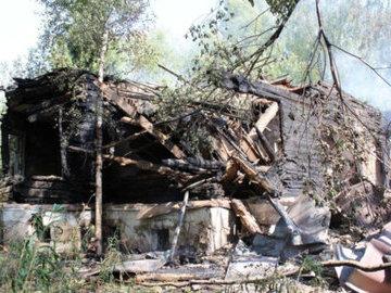 Причиной пожара усадьбы предка Пушкина был поджог